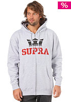 SUPRA Above Fleece Hooded Zip Sweat athletic/heather
