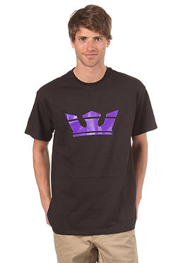 SUPRA Icon S/S T-Shirt black/purple