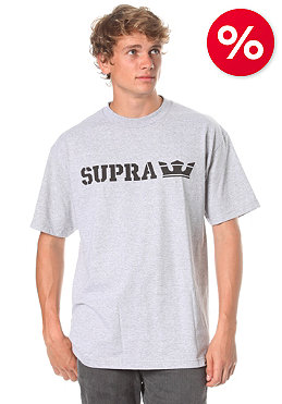 SUPRA Sidelock S/S T-Shirt athletic heather