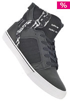 SUPRA Skytop black/paint stripe white