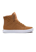 SUPRA Skytop brown/yellow - white