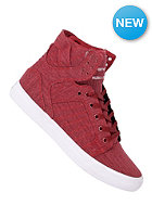 SUPRA Skytop burgundy/white