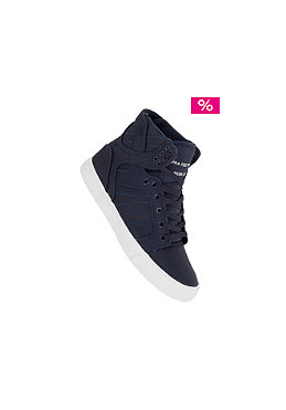 SUPRA Skytop navy canvas tuf