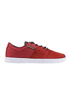 SUPRA Stacks II red / lizard - white