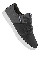 SUPRA Stacks Low charcoal grey/white