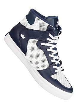 SUPRA Vaider High Leather white/navy 