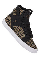 SUPRA Womens Skytop black/cheetahprint/white