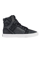 SUPRA Womens Skytop black / metallic - white