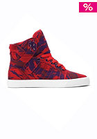 SUPRA Womens Skytop party camo red/grape white