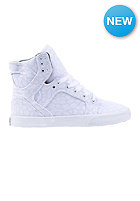 SUPRA Womens Skytop white / cheetah - white