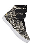SUPRA Womens Society blksnakeprint/gold/white