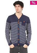 SUPREME BEING Horst Knit Cardigan navy
