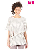 SUPREME BEING Swathe Dress ecru & grey