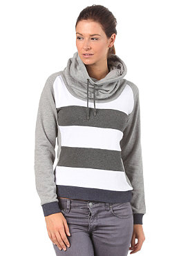 SUPREME BEING Womens Giraffe Sweater grey marl