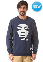 SUPREMEBEING Face Off Crew navy