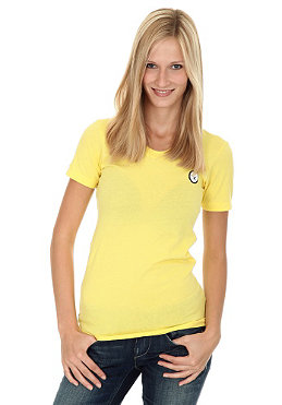 SURFERS Womens American S/S T-Shirt yellow