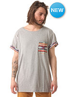 SWEET Navajo Pocket S/S T-Shirt grey melange