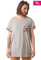 SWEET Navajo Pocket S/S T-Shirt grey melange