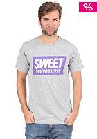 SWEET Official Base S/S T-Shirt grey melange