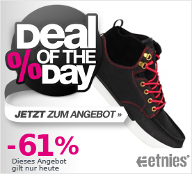 Deal of the Day ETNIES JP Walker Waysayer black/red/white