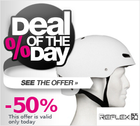 Deal of the Day REFLEX Red Riot Hab EPS Helmet white