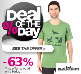 Deal of the Day HEADLINE Nature & Shit S/S T-Shirt heather kelly green