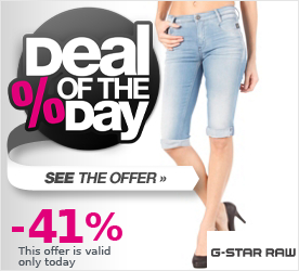 Deal of the Day G-STAR Womens New Radar H.W. Cropped Pant medium aged