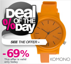Deal of the Day KOMONO The Fat Wizard sienna