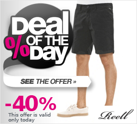 Deal of the Day REELL Miami Short black