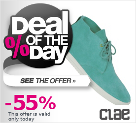 Deal of the Day CLAE Strayhorn U caribbean suede