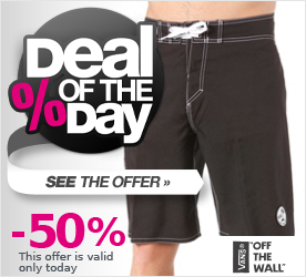 Deal of the Day VANS Off The Wall 22 Boardshort black