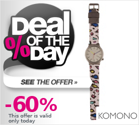 Deal of the Day KOMONO 80s Leopard bunt