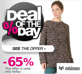 Deal of the Day MINIMUM Womens Mya Blouse plum