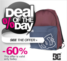 Deal of the Day DC Borne Colorblock Backpack tawny port - solid