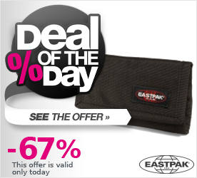 Deal of the Day EASTPAK Backstage Single Accessory brown