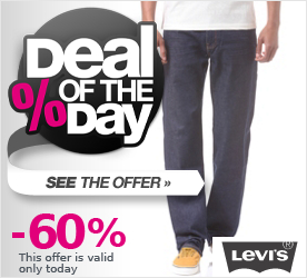 Deal of the Day LEVIS 751 Standard Fit Classic Pant indigoed local