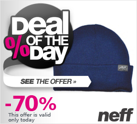 Deal of the Day NEFF Ryder Beanie Navy White