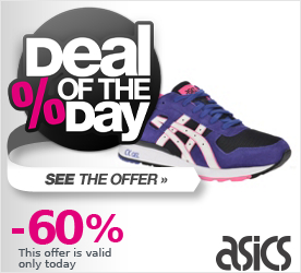 Deal of the Day ASICS GT-II black-white