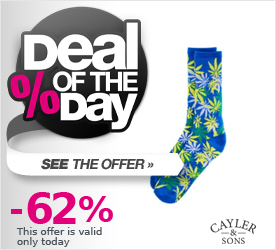 Deal of the Day CAYLER & SONS Brazilian Erbz Socks blue/green/yellow