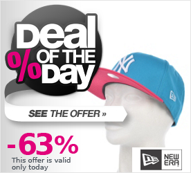 Deal of the Day NEW ERA Cotton Block 3 Snapback Cap blue jewel/bright rose