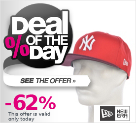 Deal of the Day NEW ERA CR Mono Block Snapback Cap scarlet