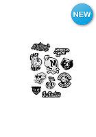 THE DUDES The Dudes 10er Sticker Set black