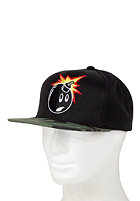 THE HUNDREDS Adam Camo Snapback Cap black