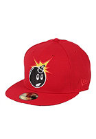 THE HUNDREDS Adam Stripes New Era Cap red