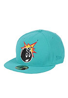 THE HUNDREDS Adam Stripes New Era Cap teal