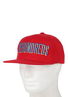 THE HUNDREDS Clean Snapback Cap red