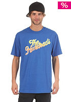THE HUNDREDS Frankly Slant S/S T-Shirt royal blue