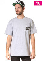 THE HUNDREDS Grouch Pocket T S/S T-Shirt ath heather