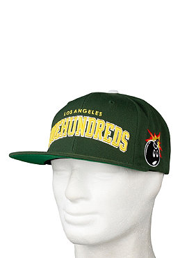 THE HUNDREDS Player Snapback Cap green