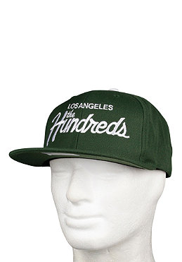 THE HUNDREDS Team Snapback Cap green
